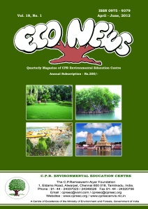 Econews-April June 2012 Cover