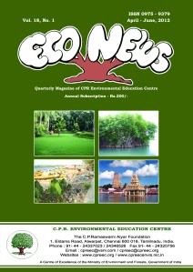 Econews-April June 2012 Cover